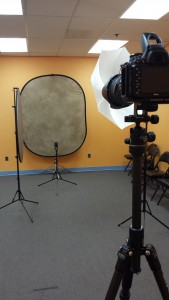 Peter Rabbit Headshot Setup